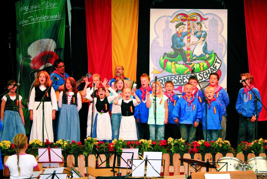 Kermespänz, Kirmes Hachenburg; Frühschoppen